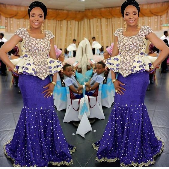 2018 Latest Aso Ebi Styles for Cute Wedding Guests to Rock ...