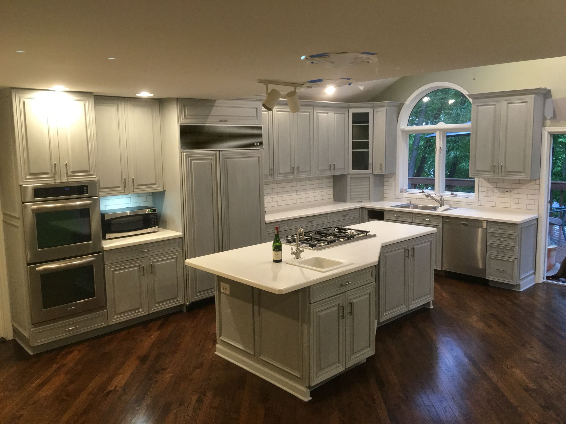 Painted kitchen cabinets and remodeled kitchen follow my ...