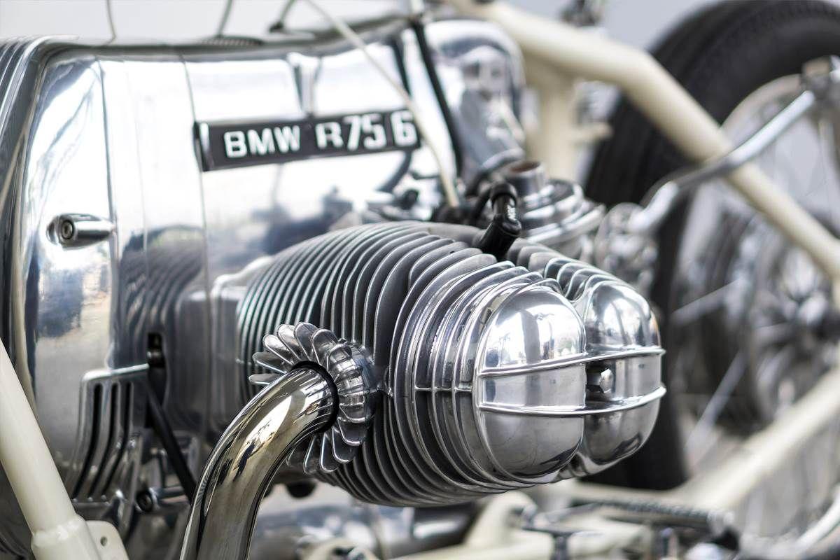 Custom BMW R75 von Rusty Factory   Motorrad   Custom bmw