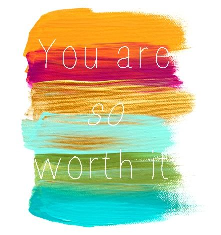 don't ever forget your worth.