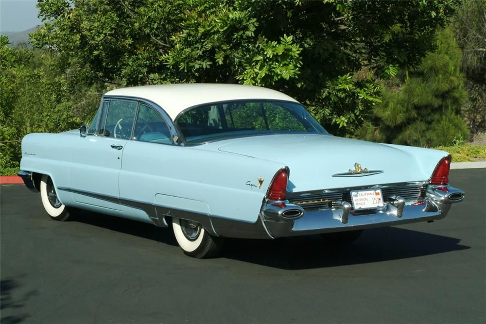 1956 LINCOLN CAPRI 2 DOOR HARDTOP –  – Barrett-Jackson Auction Company – World's Greatest Collector Car Auctions