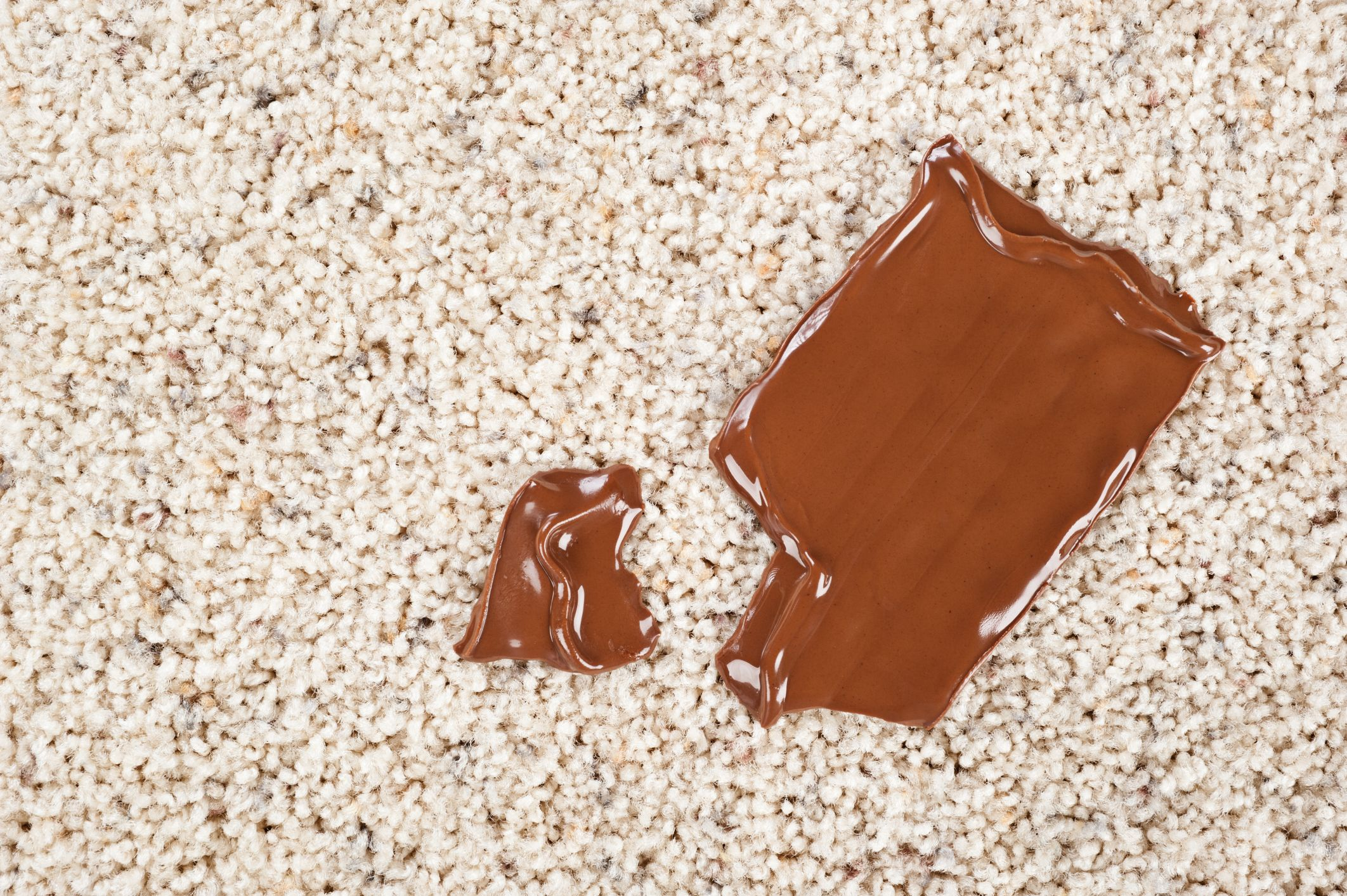 How to get chocolate stains out of carpet removing