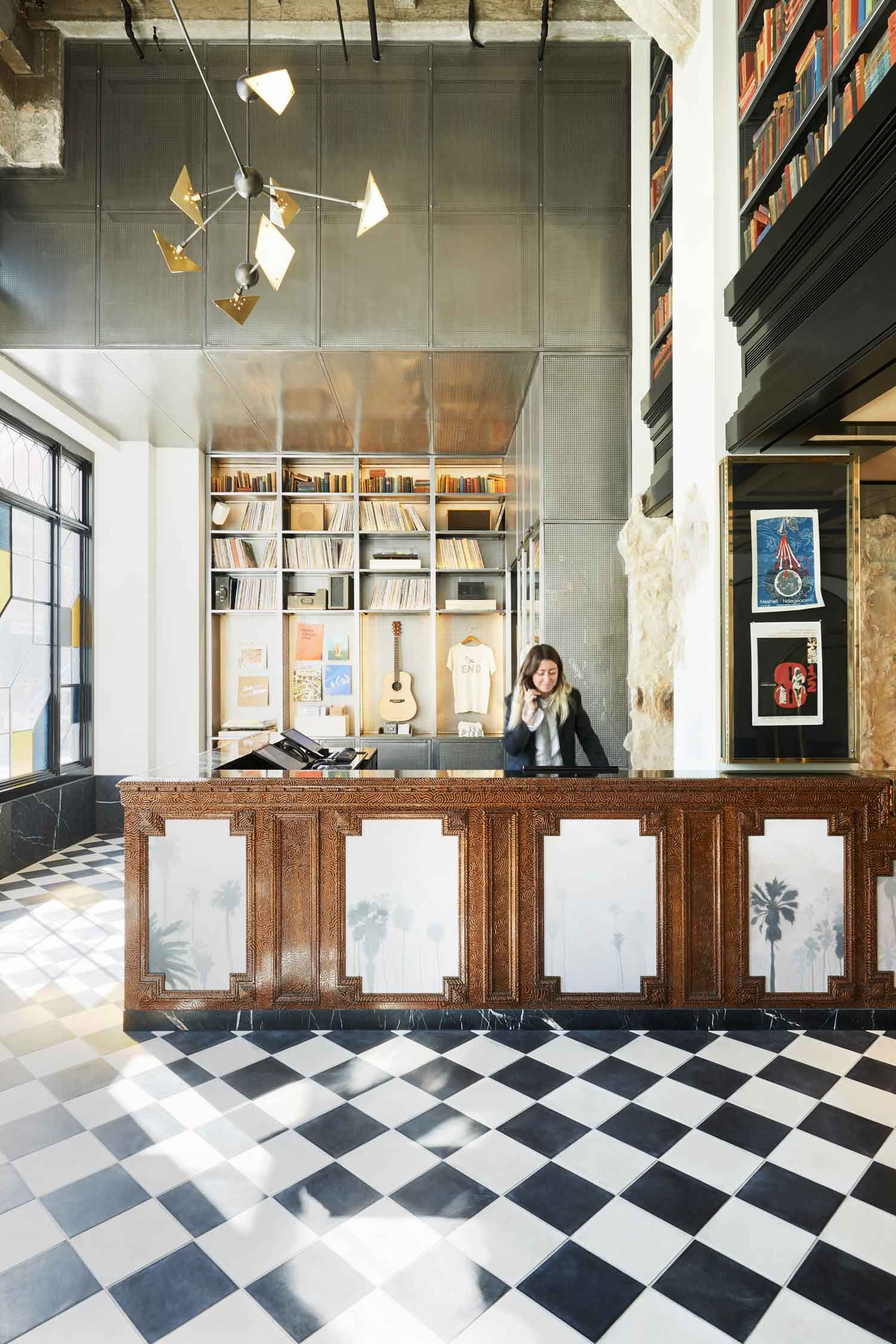 Ace Hotel Downtown La Yellowtrace Hospitality Design Cafe Restaurant
