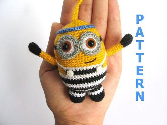 crochet toy pattern Easy crochet pattern minion Crochet minions pattern minions amigurumi  minion plushie Amigurumi pattern #minioncrochetpatterns