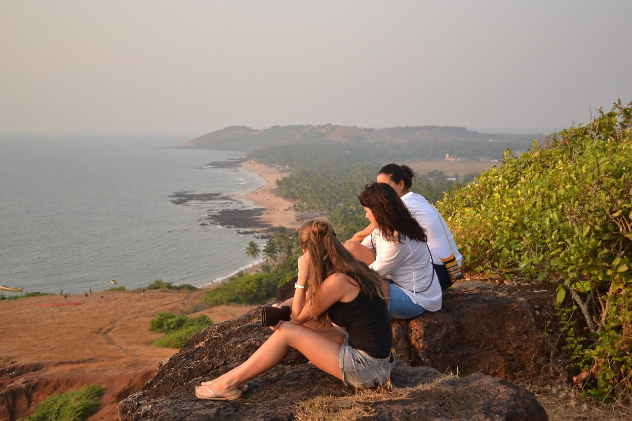 Vacation Goa Summer Vacation Nature Ocean Sunset Bl Vacation Goa