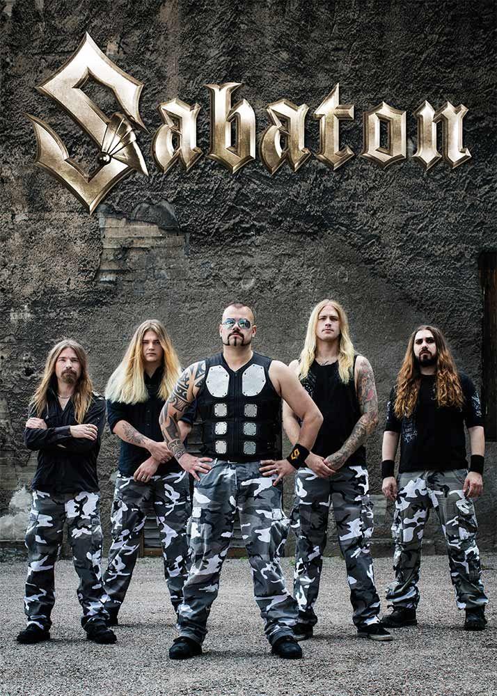 Sabaton Official Merchandise All Available Items Sabaton Metal Meme Heavy Metal Bands