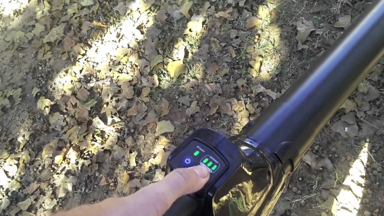 Kobalt Cordless Blower kHB 400B Best Cordless Leaf