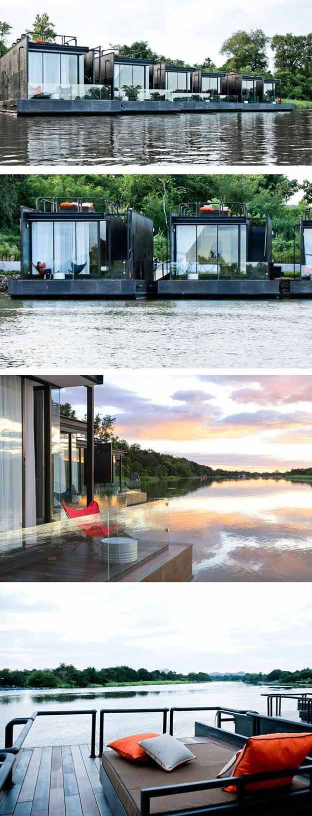 Floating Holiday Homes |12 Cool Container Homes