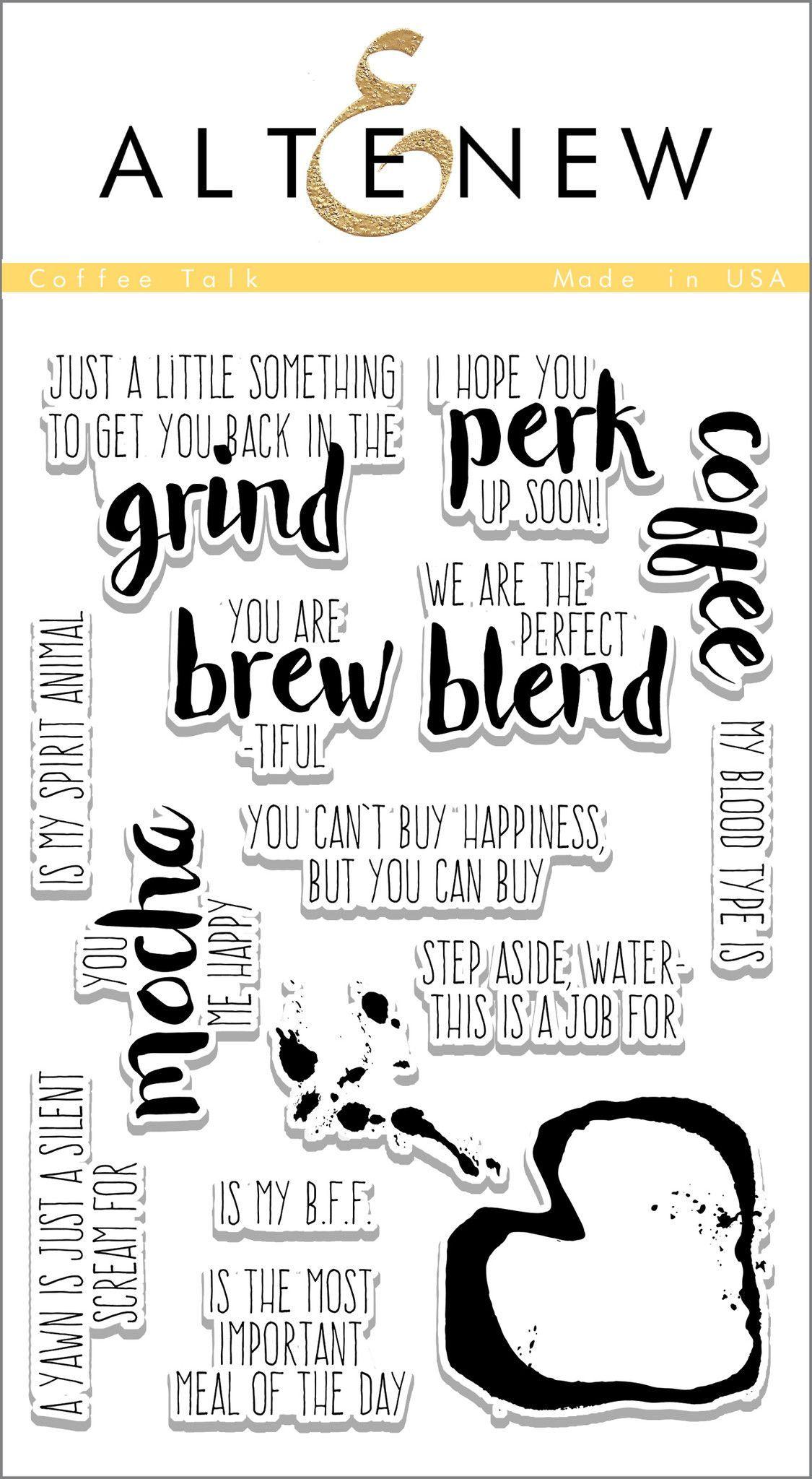 Coffee Talk Stamp Set