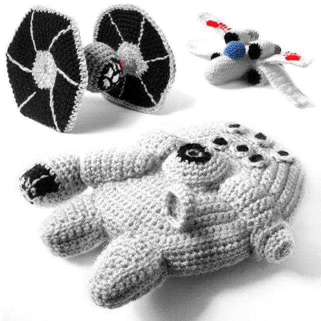 Star Wars Amigurumi, A Series of Crochet Patterns by Ana Yogui ...