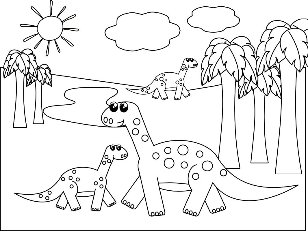 Dinosaur Coloring Pages 1 Coloring Kids | coloring_pages | Pinterest