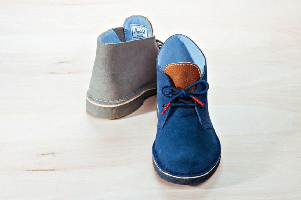 ef2f12c5325 Herschel Supply Co. x Clarks Originals Desert Boots | Footwear ...