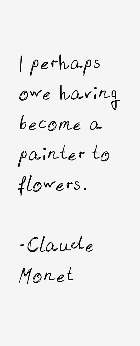 2 Claude Monets Gardens Quotes And Notes Arm Gardening Quotes