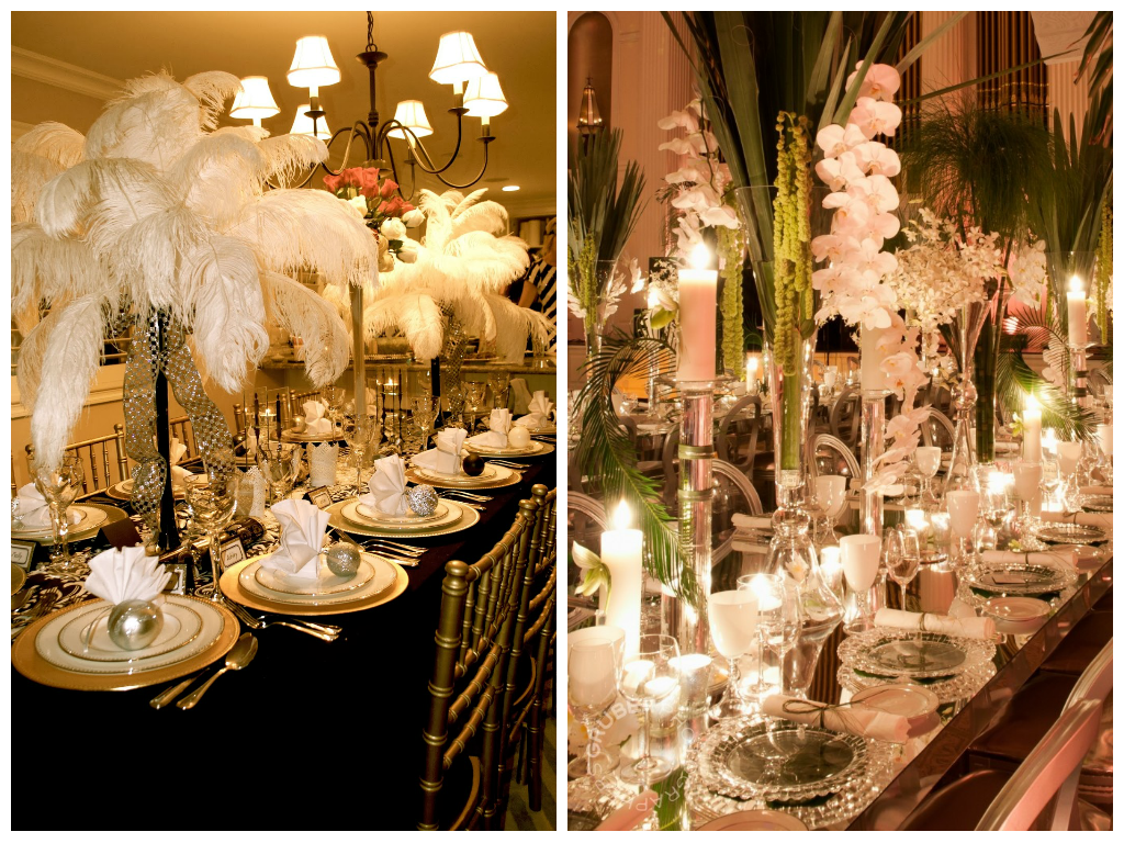 great gatsby party decorations - Google Search