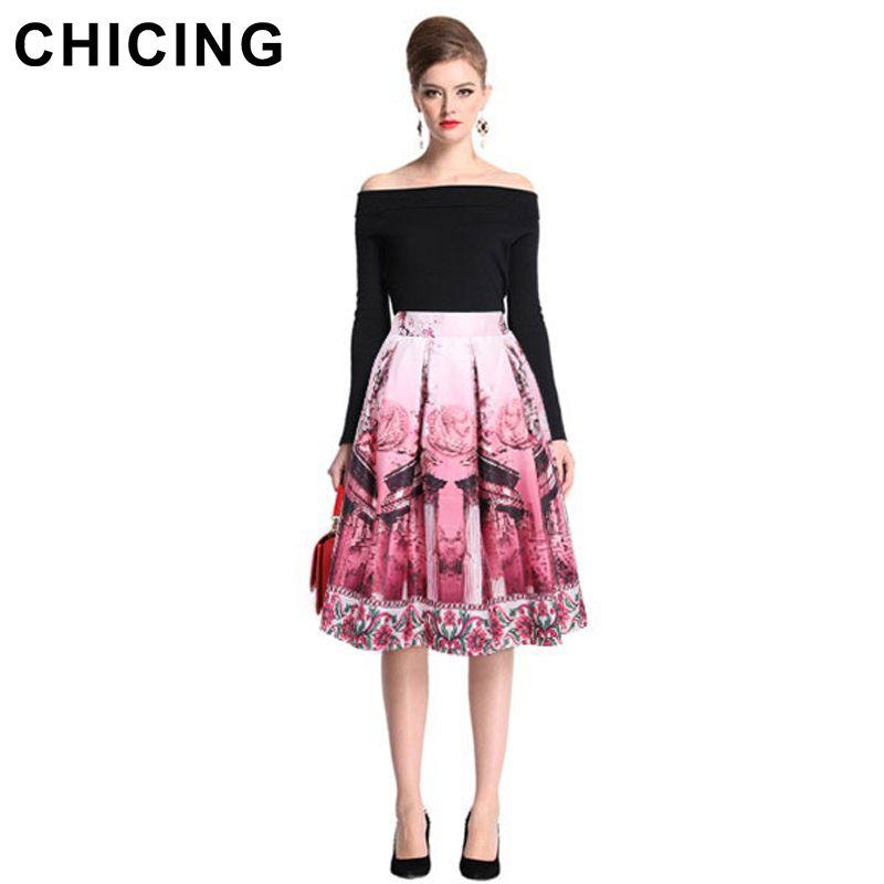 4 colors Women Printed Skirt Vintage High Waist  Only $22.99 => Save up to 60% and Free Shipping => Order Now!  #Skirt outfits #Skirt steak #Skirt pattern #Skirt diy #skater Skirt #midi Skirt #tulle Skirt #maxi Skirt #pencil Skirt
