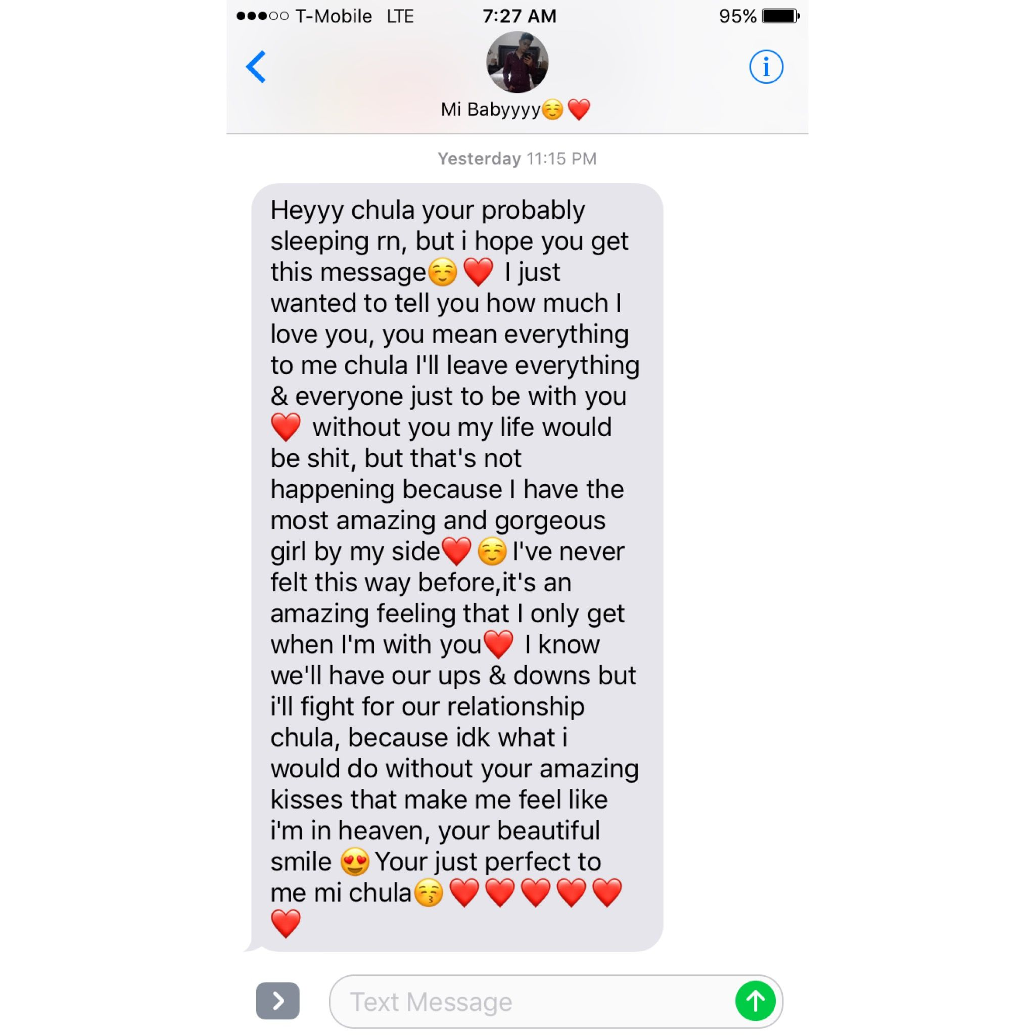 Pin by Princessjoselin on TEXTS | Cute texts for him