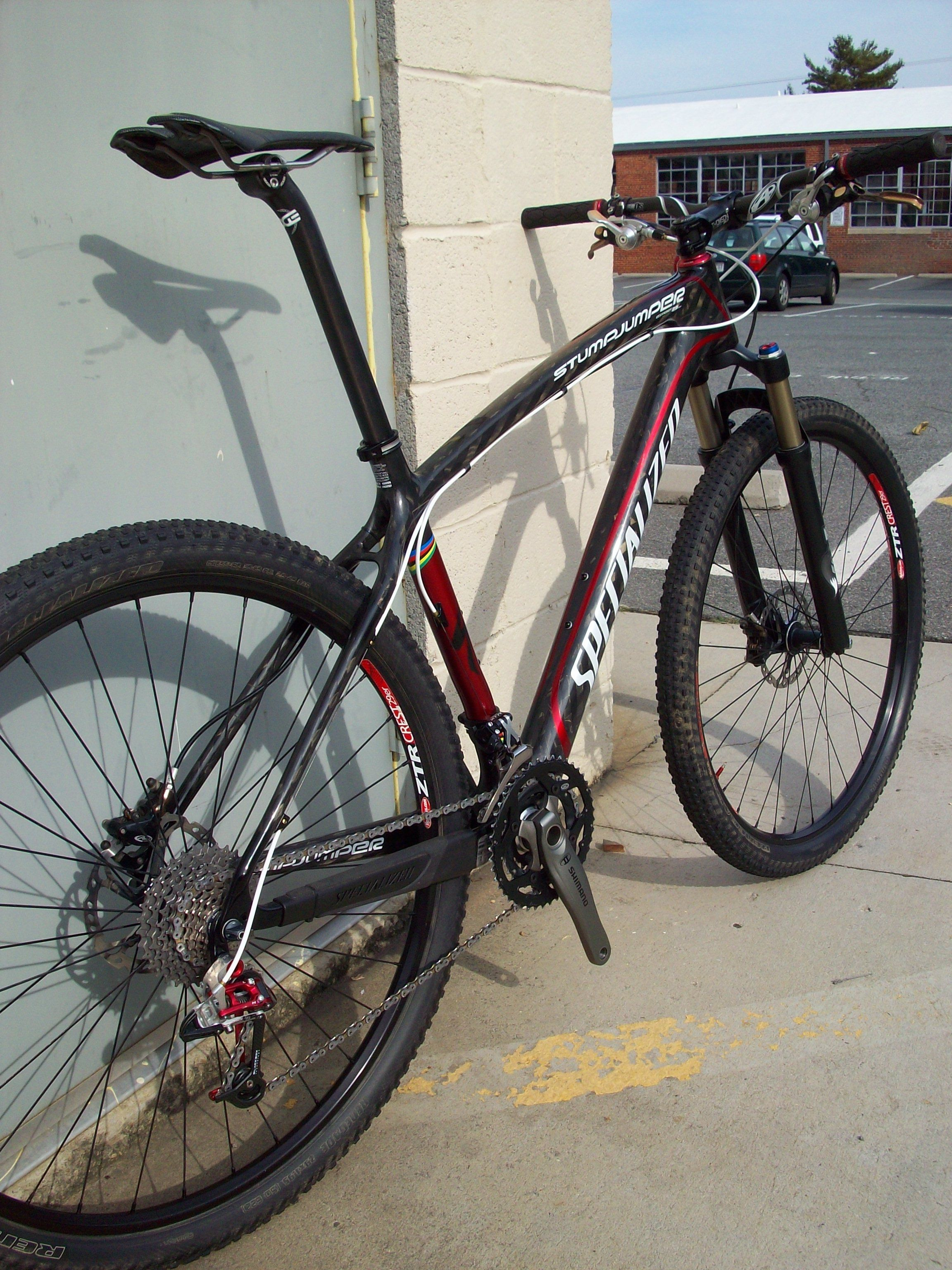 f02be73179a Specialized Stumpjumper HT 29er carbon hardtail, Stan's Crest, SRAM X0,  Edge Composites, Fox F90 RL, Shimano XTR