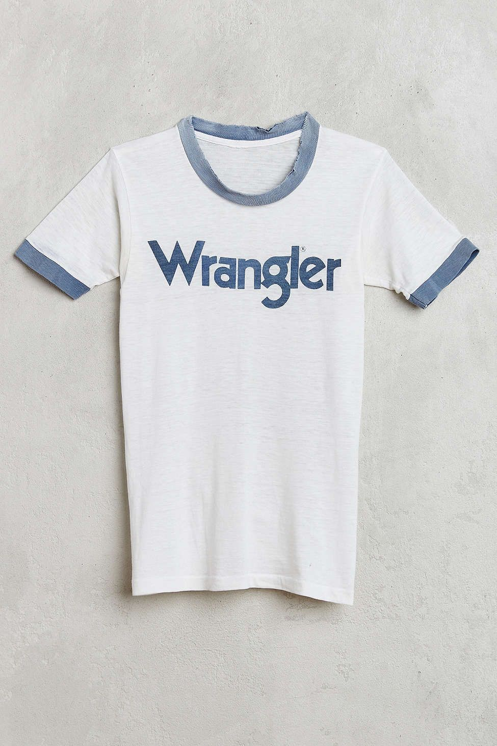 Vintage Wrangler Ringer Tee - Urban Outfitters f4fa7f663