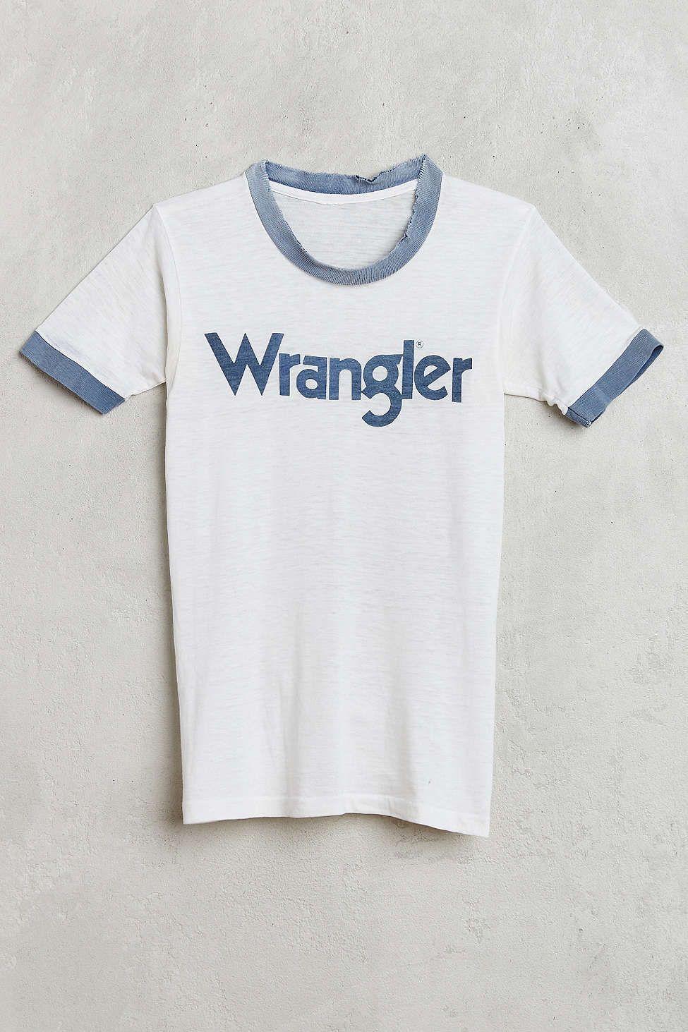 1ef71aab Vintage Wrangler Ringer Tee - Urban Outfitters | home design ...