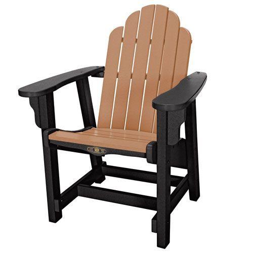 Essentials Black/Cedar Conversation Chair