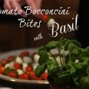 Refined Entertaining : Tomato Bocconcini Bites