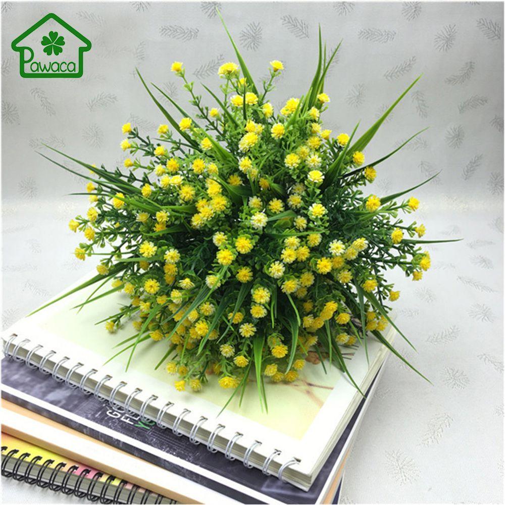 Artificial Fake Gypsophila Beautiful Baby\'s Breath Flowers Bouquet ...