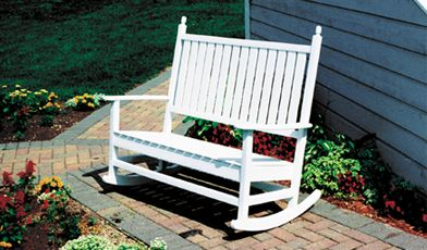 Delicieux Double Patio Rocking Chair For Two Person
