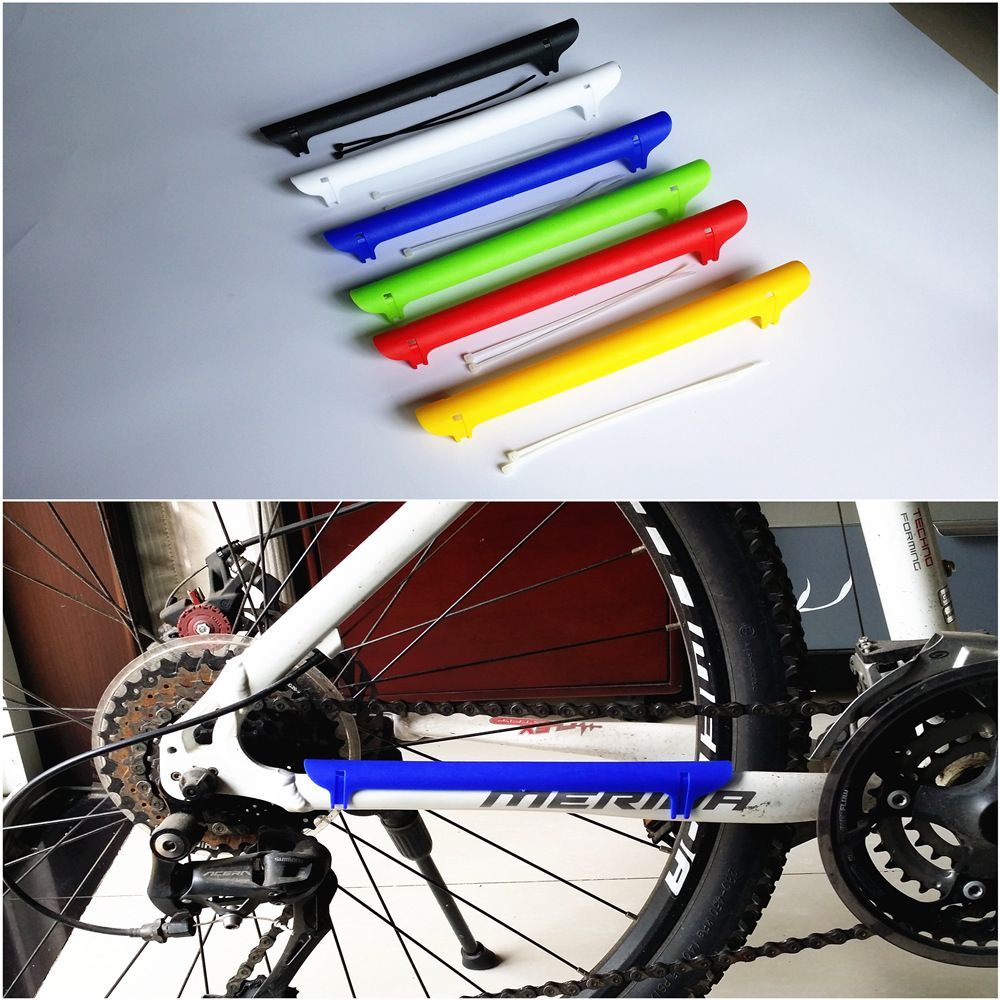 Road Mountain Bike Mtb Bicycle Frame Chain Stay Posted Protector