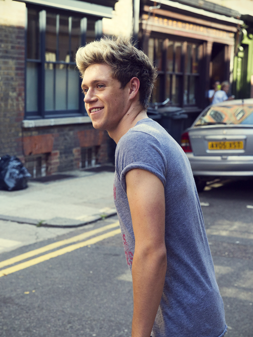 Niall Horan Of One Direction For Midnight Memories Album