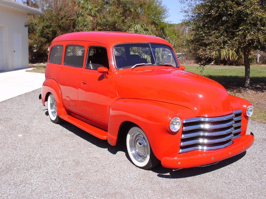 1949 Chevy Suburban The Model My Chevy Hhr Is Based Off Of
