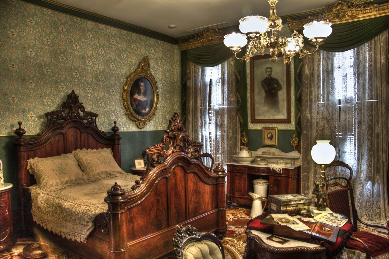 Interiors Resting In Luxury 19th Century Bedroom In