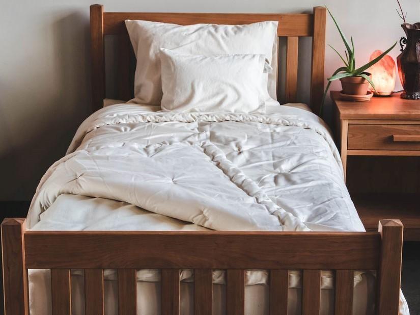 Wool Comforter Comforters Organic Bedroom Home Decor