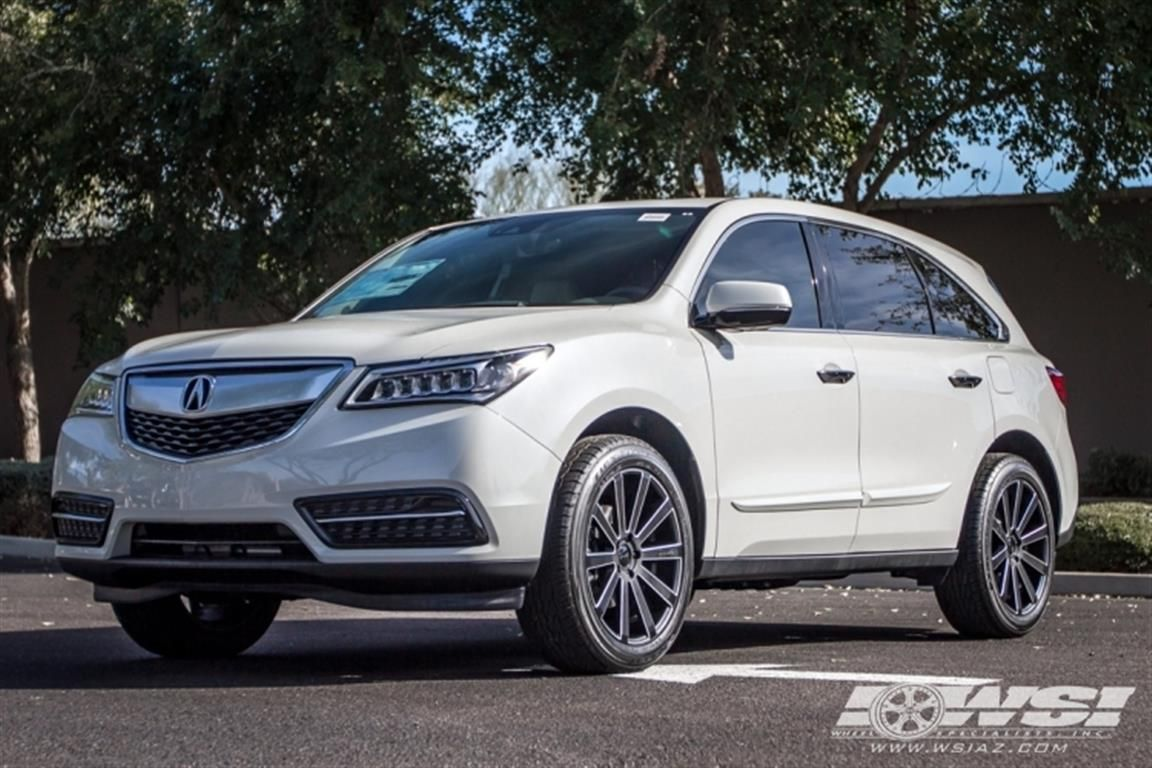 2016 acura mdx with gianelle wheels by wheel specialists inc in tempe az