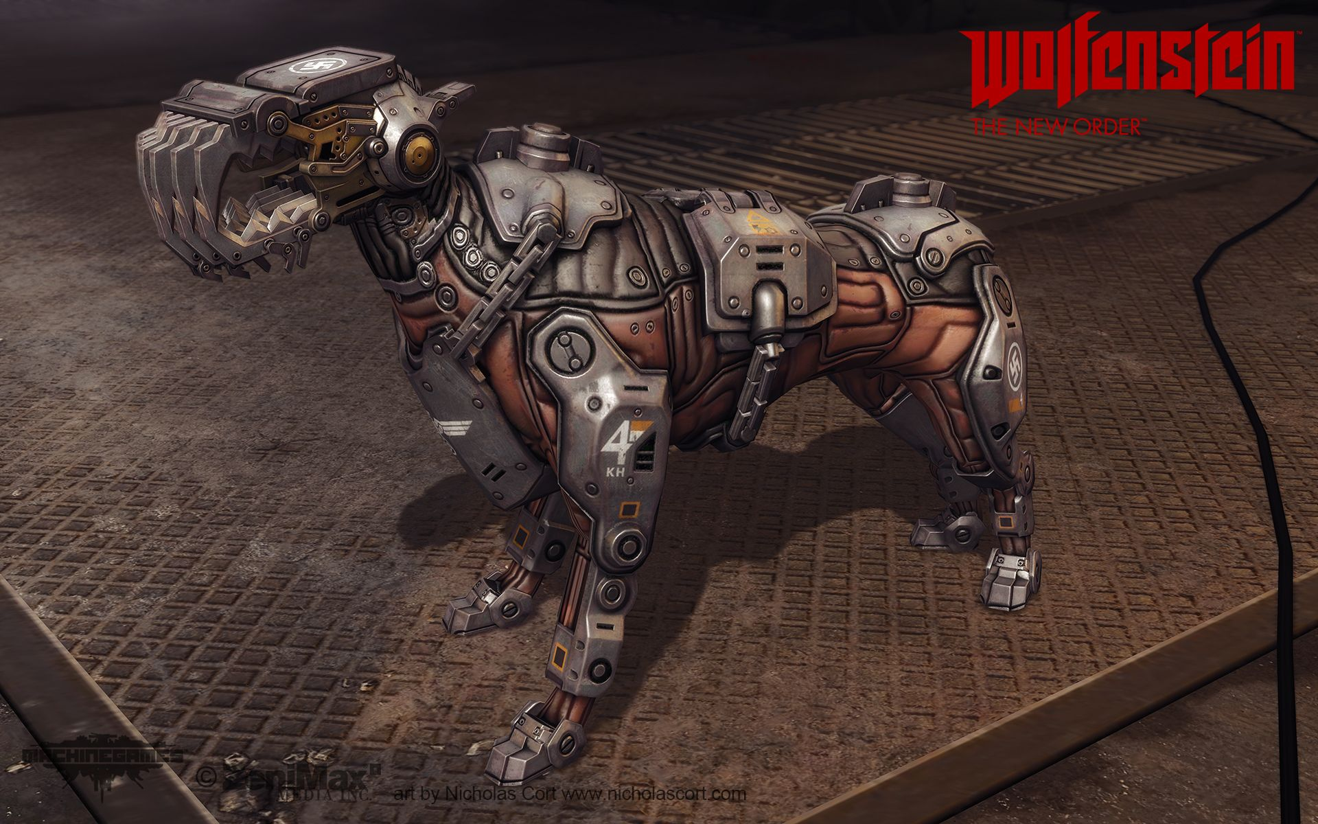 Wolfenstein: The Art Dump - Page 2 - Polycount Forum | 3d GameArt in