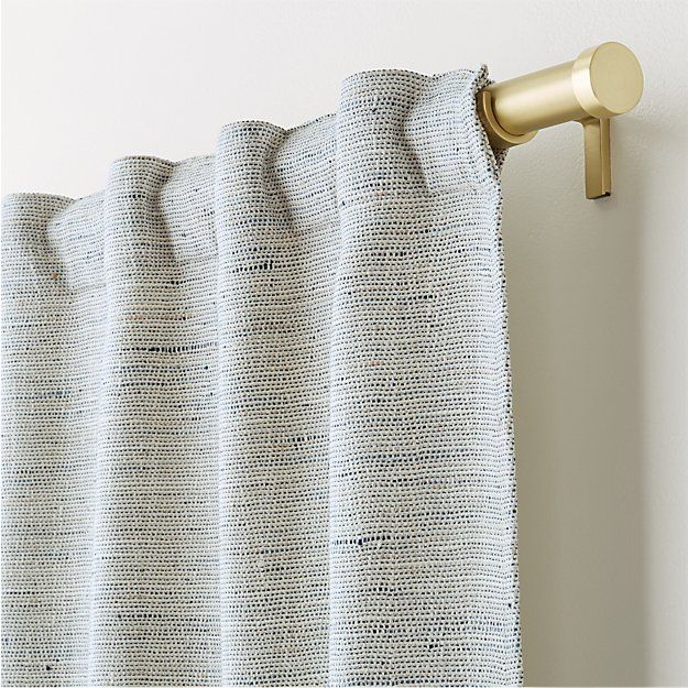 Shop Reid Blue Curtain Panel There S More Reid Than Meets The Eye