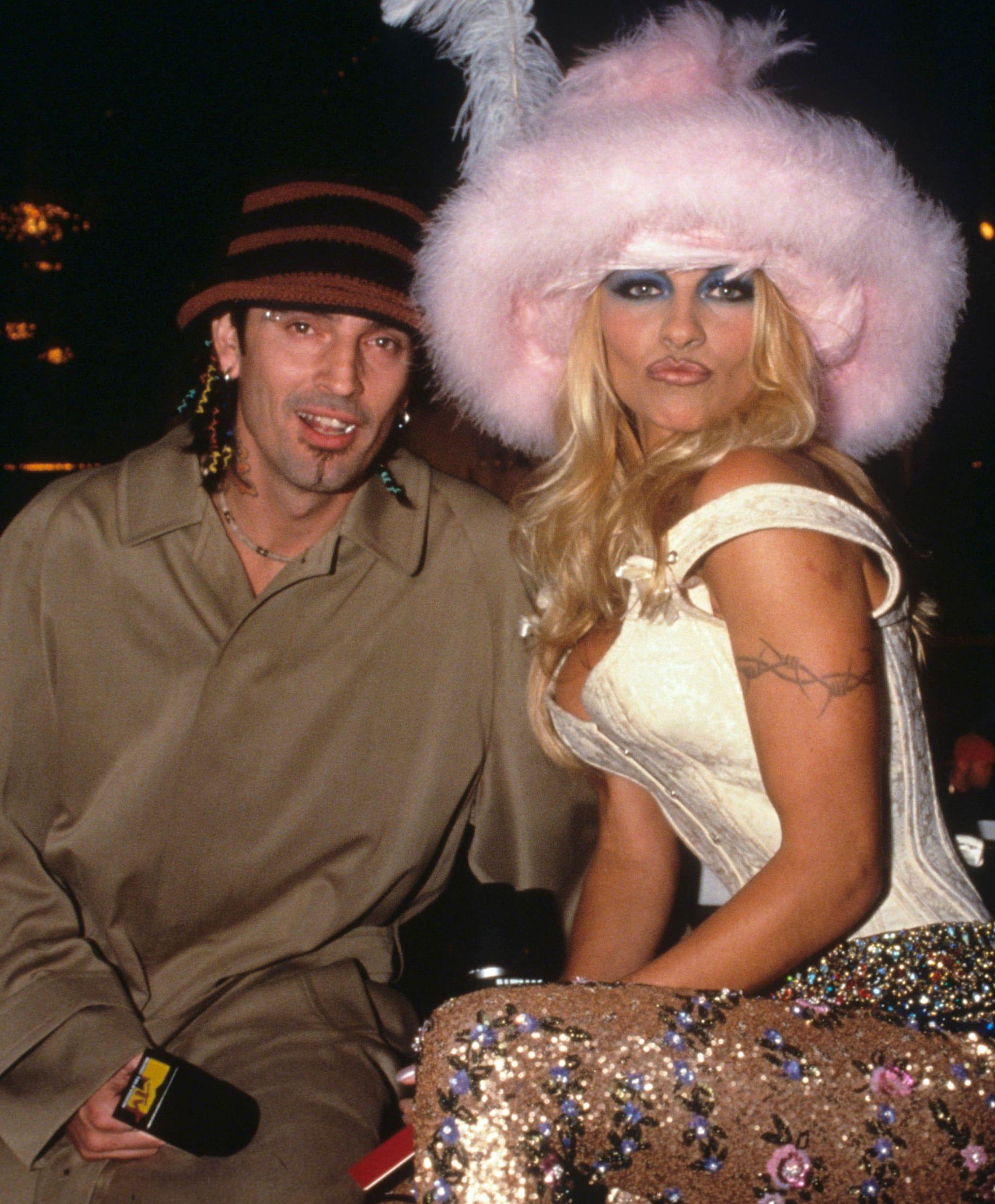 Pamela anderson and tom lee