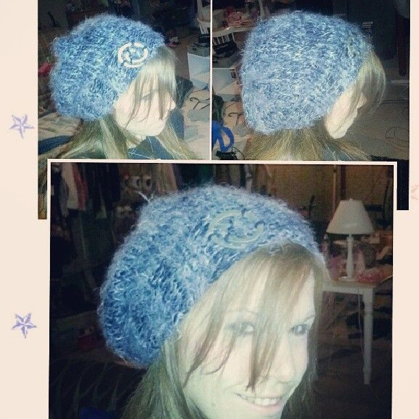 Super Simple Slouch Hat I Made For My Daughter Less Than One Skein