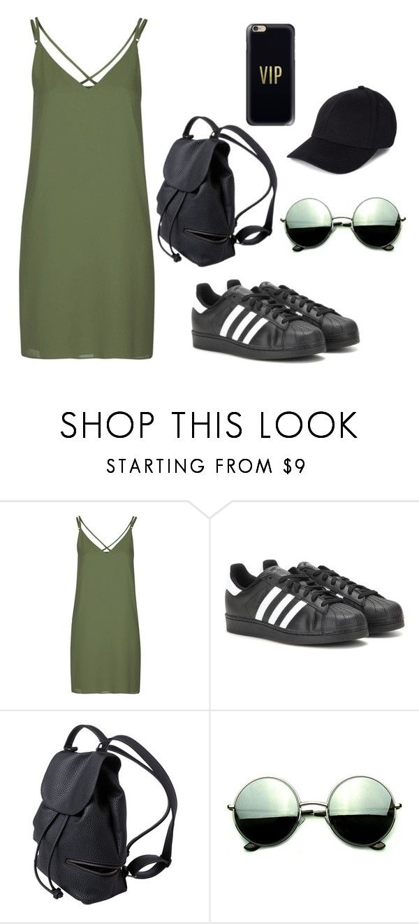 """Untitled #24"" by violeta-02 ❤ liked on Polyvore featuring Topshop, adidas, Revo and Casetify"