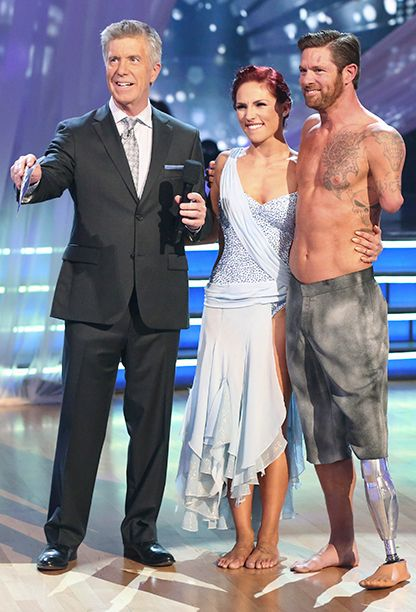 'Dancing With the Stars': The Men We Love | Noah Galloway | EW.com - The former soldier, who was injured in Iraq, came in third place with Sharna Burgess in Season 20.