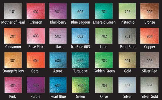 Gilders Paste Color Chart Bing Images Colour Palette Pinterest