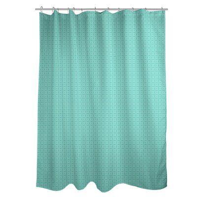 East Urban Home Katelyn Elizabeth Two Doily Single Sower Curtain
