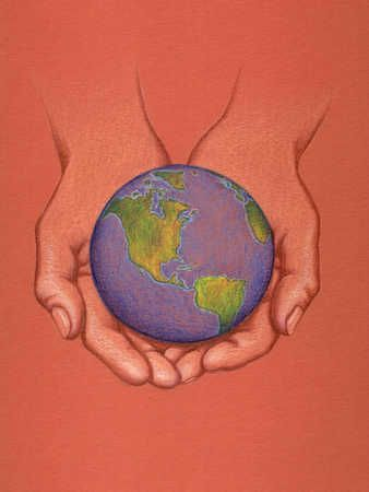 painting of cupped hands - Google Search | Logo ...