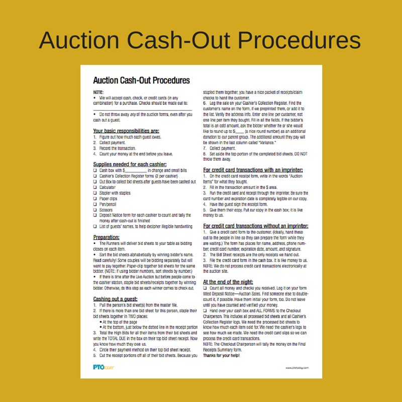Helpful tips to follow when wrapping up your auction for Auction advice