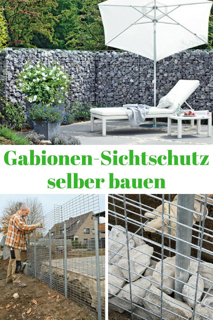 Sichtschutz Gabionen Mauern Zaune Sichtschutz Garden Outdoor