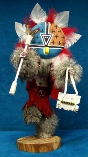 Authentic Navajo Katsina//Kachina Doll 12 Inches