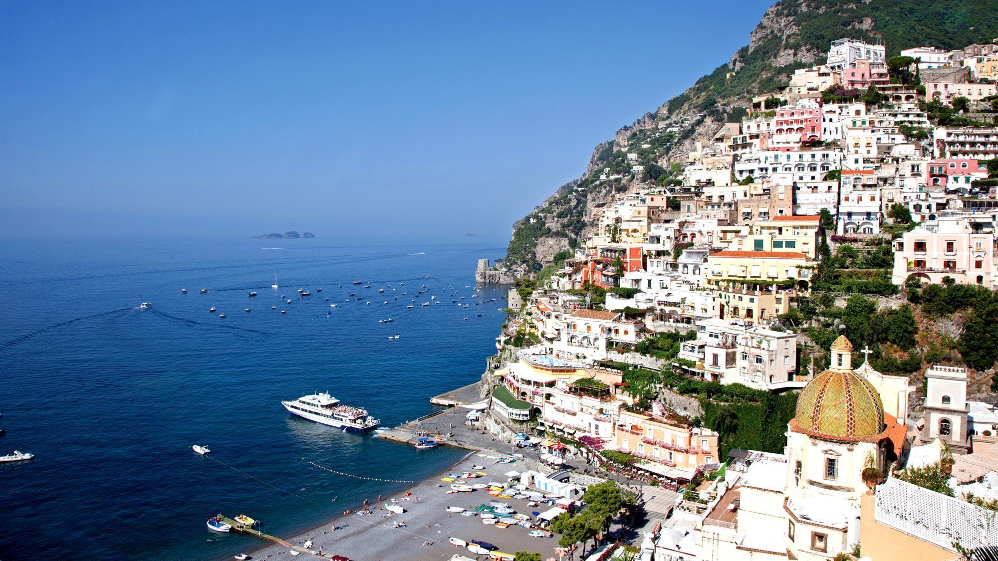 Hotel In Positano Italy Beach 5
