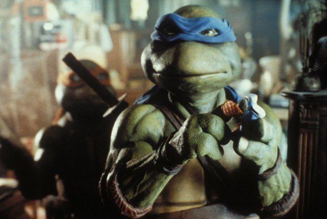 Image result for teenage mutant ninja turtles movie 1990 Leonardo