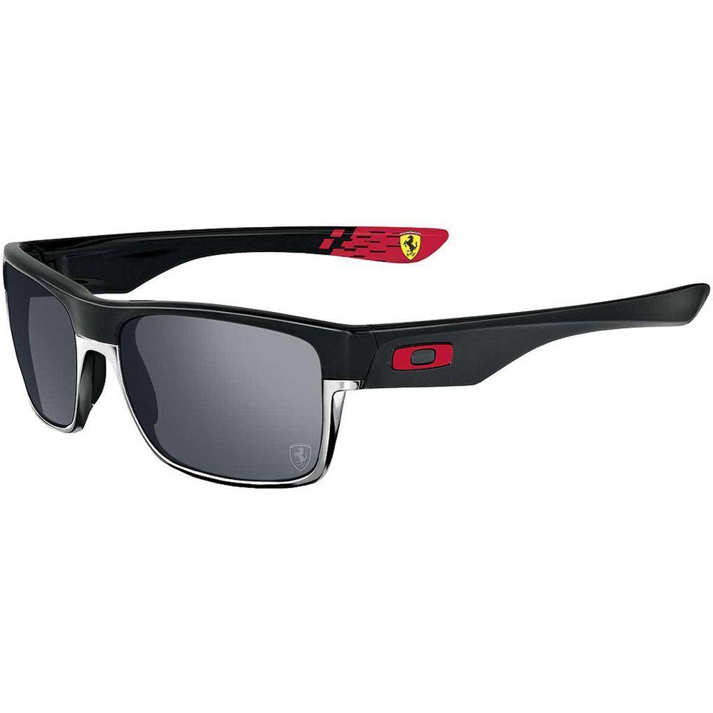 7d32382d5f Oakley Ferrari Twoface Men s Polarized Special Editions Sunglasses - Matte  Black Black Iridium