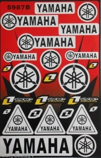 Universal Fairing Helmet Decal Sticker For All Yamaha - Cool motorcycle helmet decals