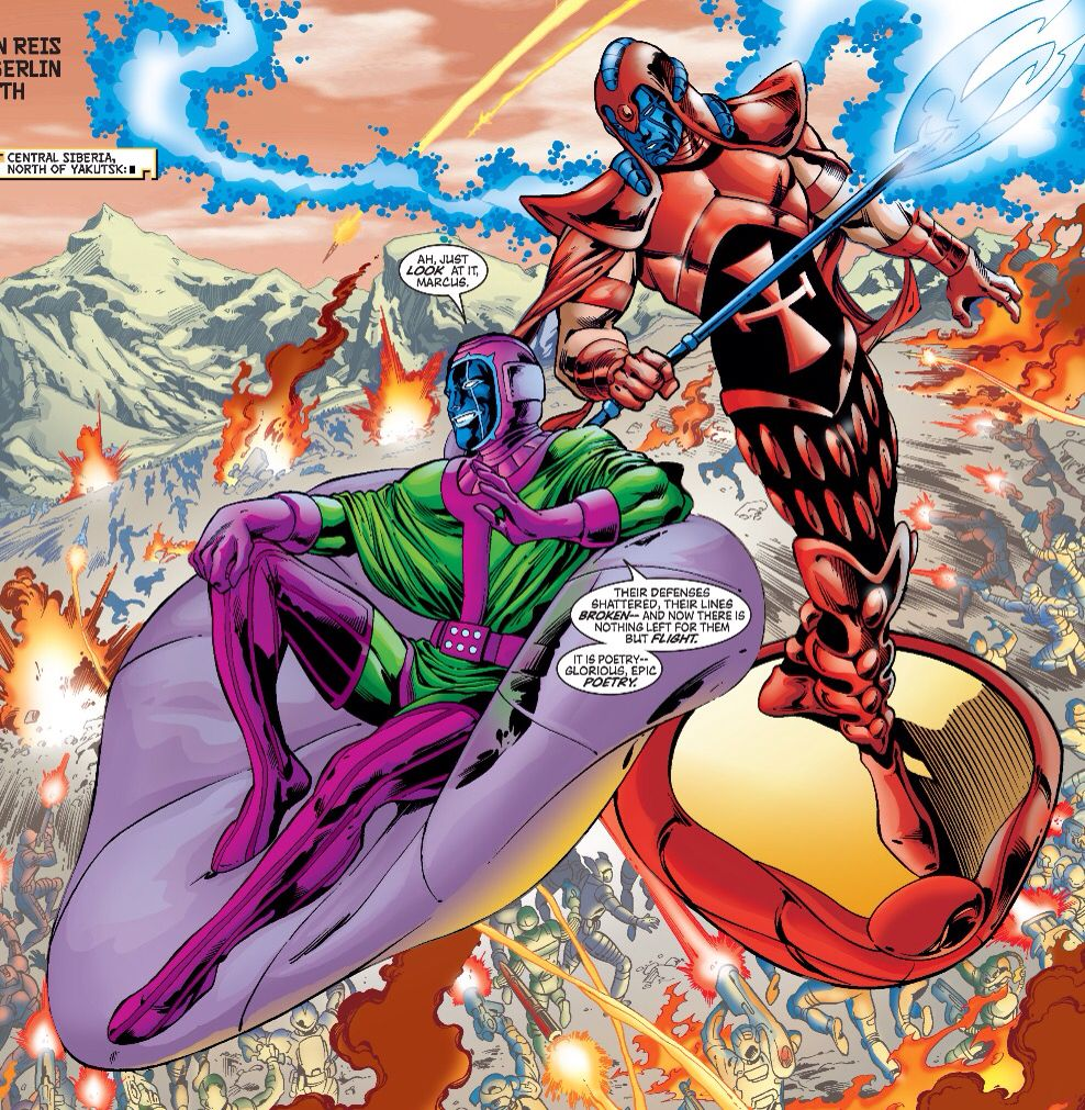 Kang, the Conqueror and the Scarlet Centurion